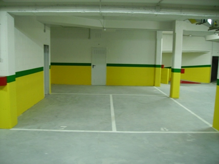Pinturas el as proyectos realizados garaje guarder a - Pintura de garaje ...