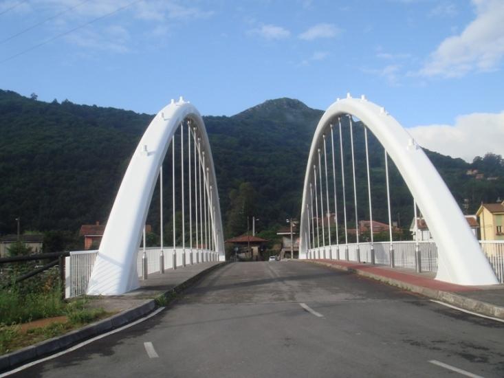 Pintado del puente con esmalte de Poliuretano de 2 componentes
